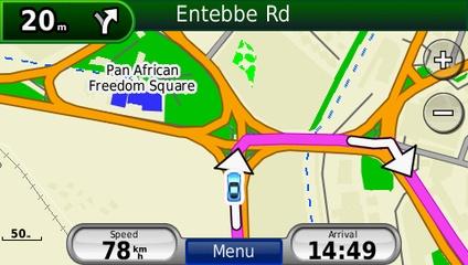 Eastern Africa Garmin map updates | OpenMapChest